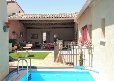 Eden Roque, maison d'hôtes en Provence - La piscine