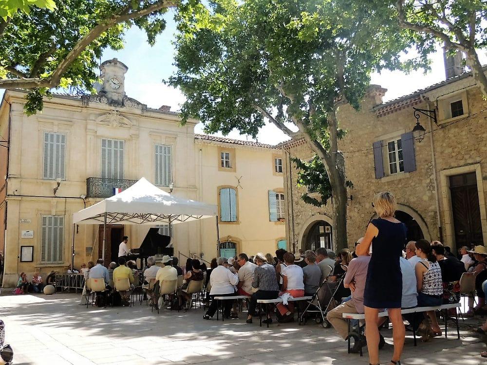 Festival piano la roque d 39 anth ron chambres d 39 h tes - Chambre d hote la roque gageac ...