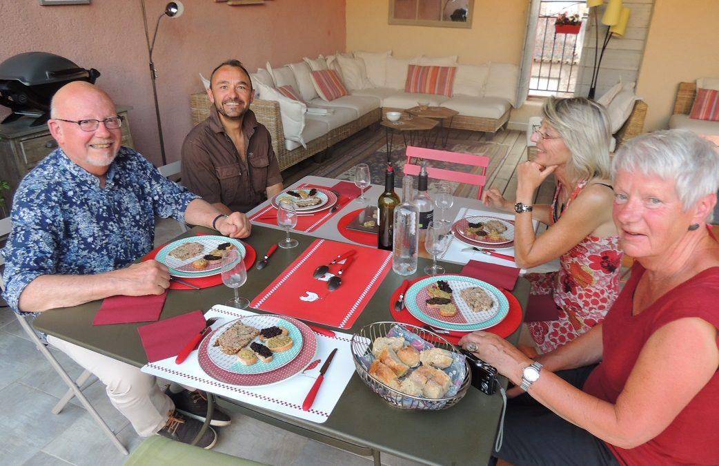 Du nouveau à l'Eden Roque: la table d'hôtes
