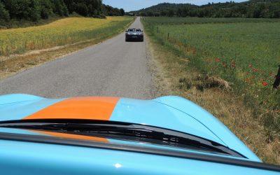 Week-end Porsche sur les routes du Lubéron et du Verdon
