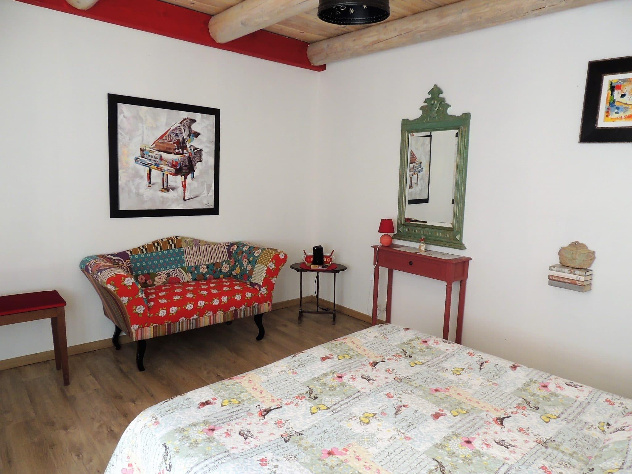 Eden Roque, Chambre d'hôtes la Roque d'Anthéron : la chambre Provençale