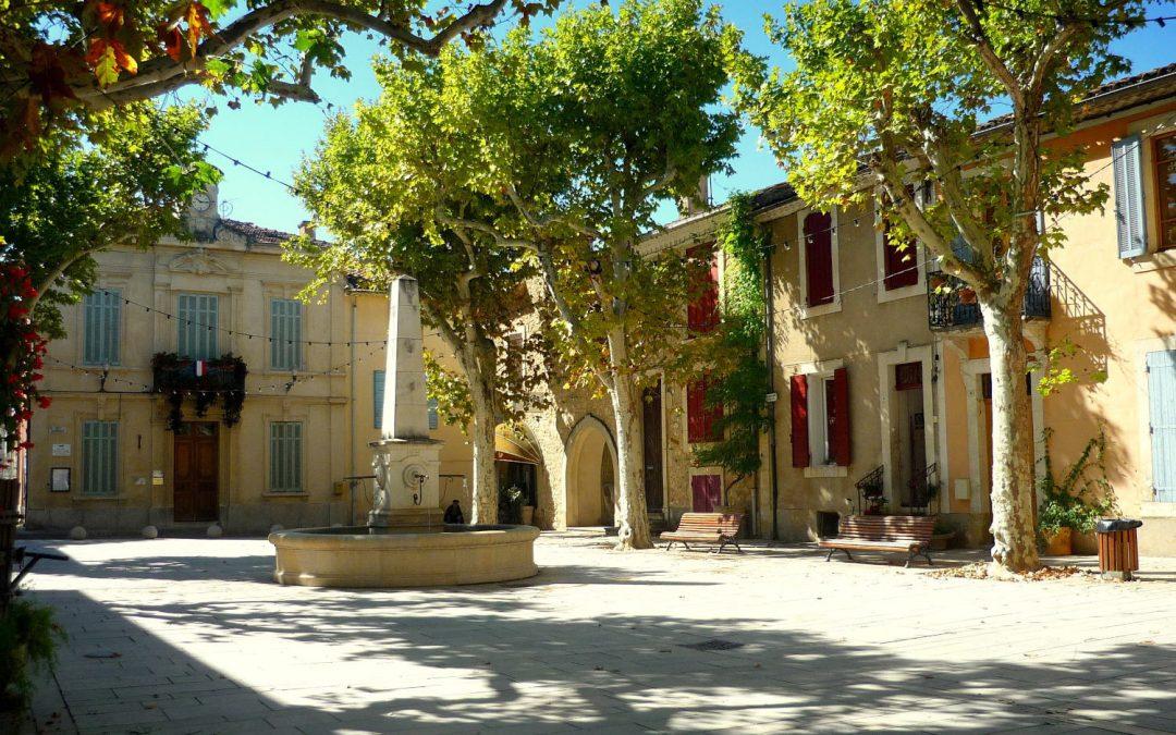 La magie d'un village provençal
